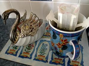 Treleela Spearmint Lavender Tea in Jharna-Kala Mug Photo by Sharani