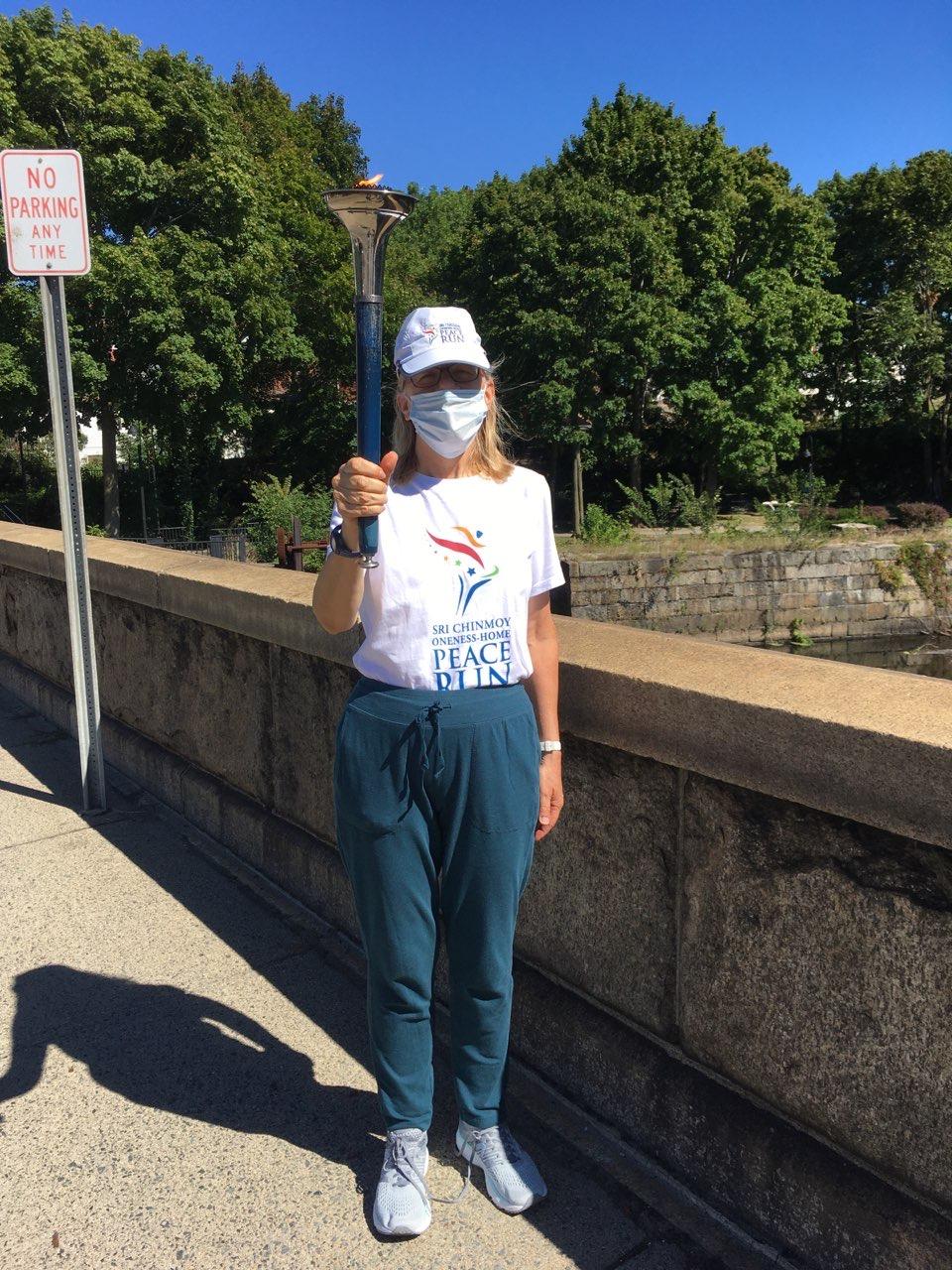 Peace Run Rhode Island August 2020